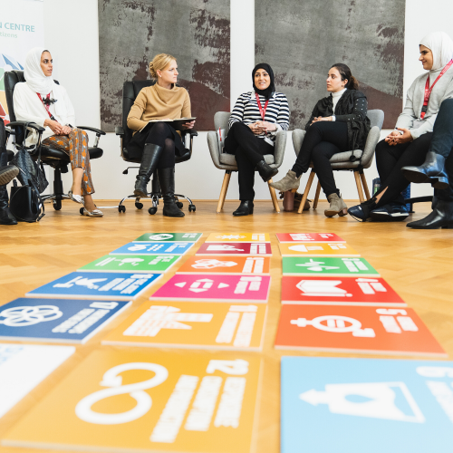 YOUNG GLOBAL CITIZENS IN SDG WORKSHOPS