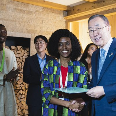 Ban Ki-moon Centre for Global Citizens at the Forum Alpbach 2019, 25th August 2019, Tirol, Austria Copyright: BKMC / Eugenie Berger