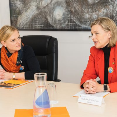 Orange the World Pressconference and Reception at the Ban Ki-moon Centre for Global Citizens in Vienna, 25 November 2019 Copyright: BKMC/Eugénie Berger